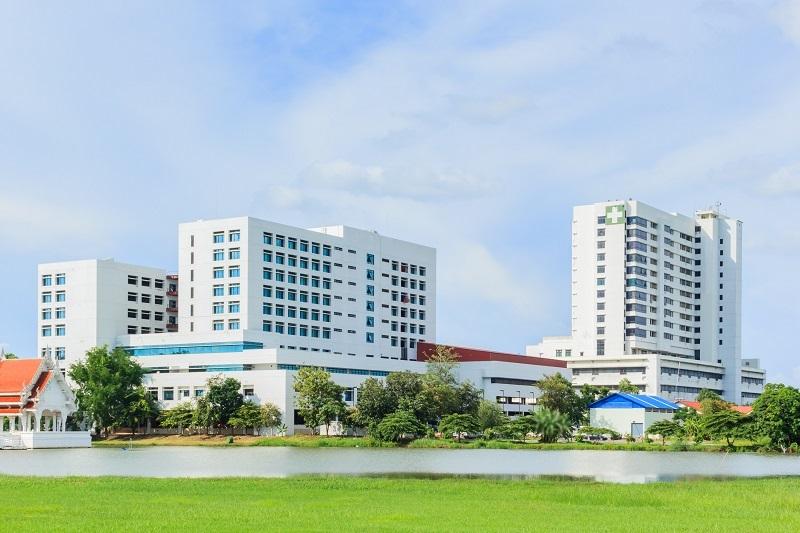 hospital exterior daytime