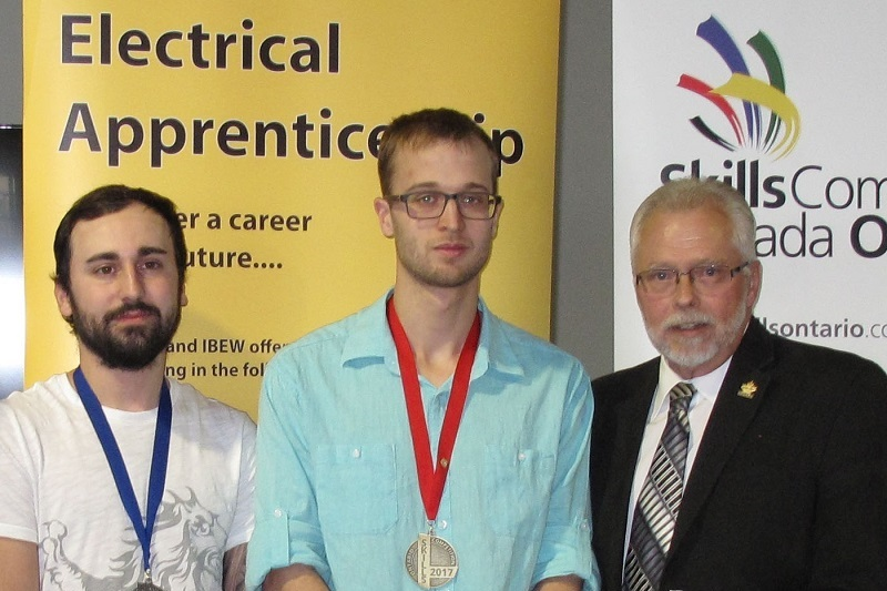 Skills Ontario Electrical Winners 2017