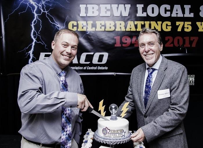 IBEW 804 75th Mark Watson Graeme Aitken