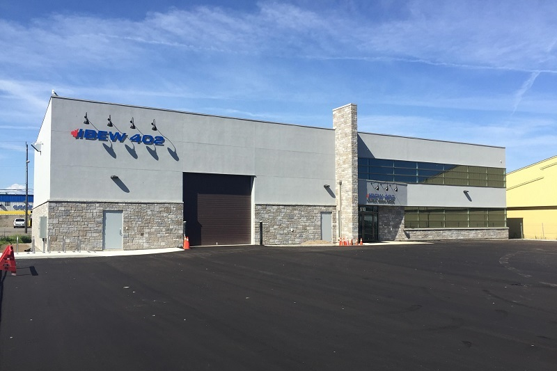 IBEW 402 new training hall Thunder Bay