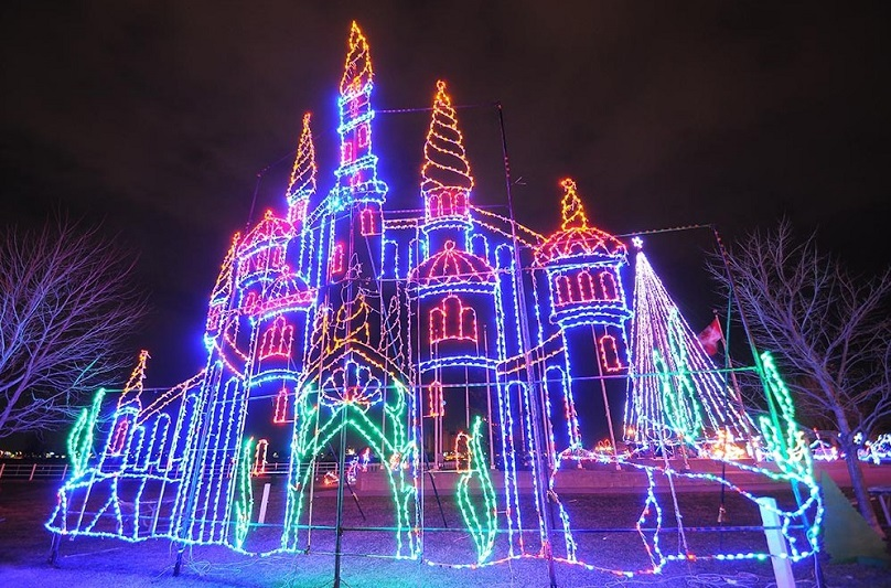 Celebration of Lights Castle