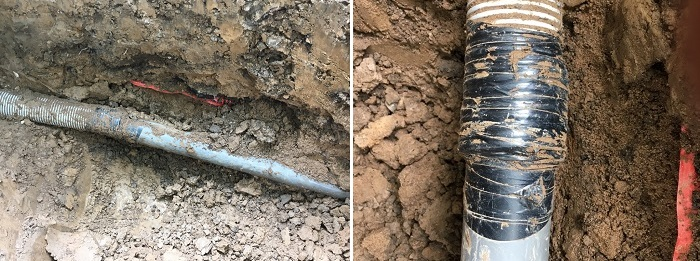electrical conduit incorrect installation examples