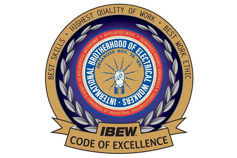 IBEW Code of Excellence logo