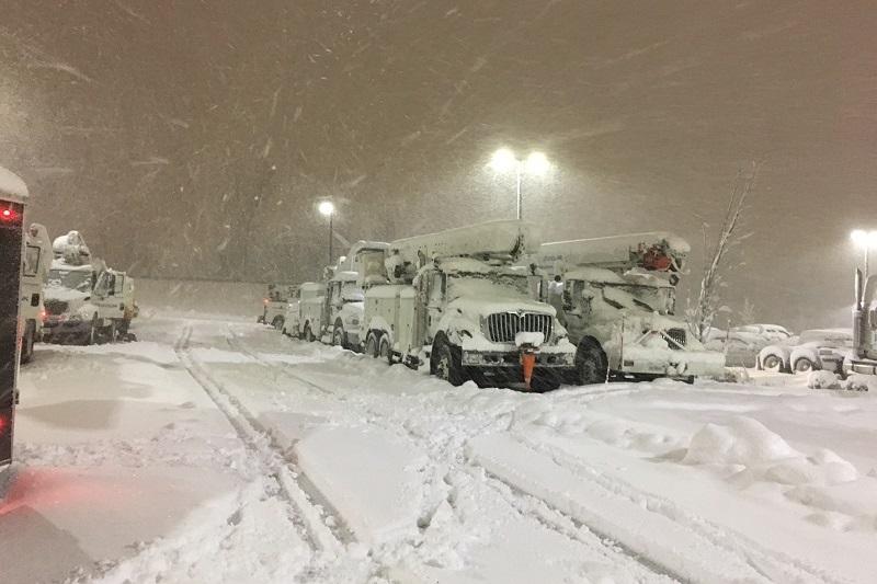 New York State Triple Snow Storm 2018
