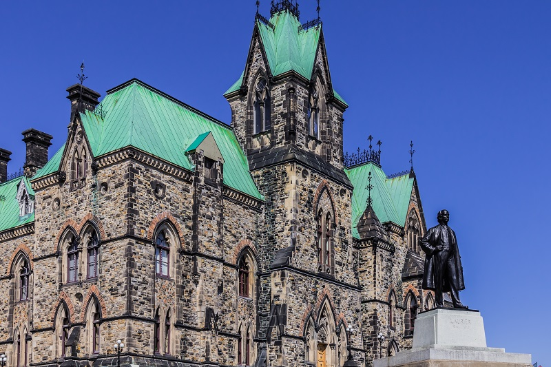 Canada Parliament Building West Block