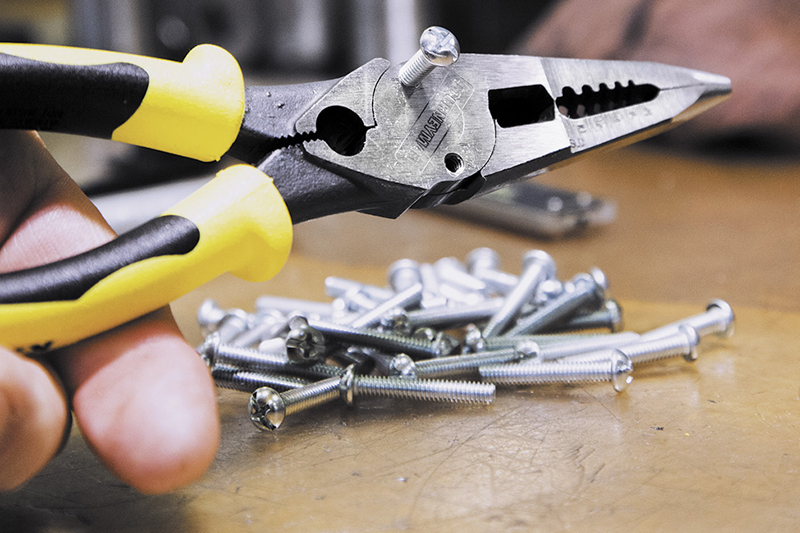 klein tools pliers with crimper