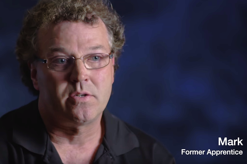 Mark Graham former electrical apprentice