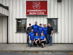 Volunteers Salvation Army Kingston