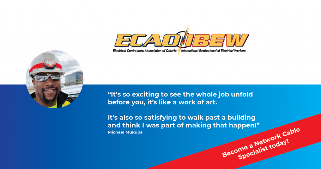 Interested in becoming a Network Cable Specialist? Apply today at www.learnandearn.ca.
